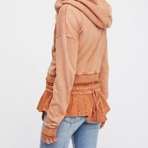 Free People When The World Meets Hoodie